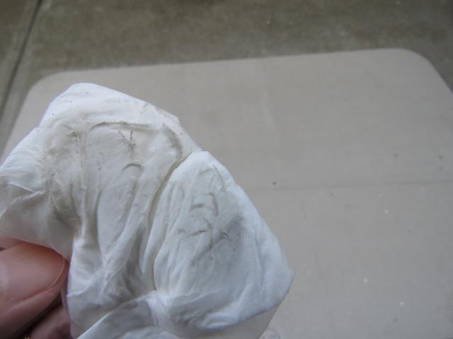 珪藻土バスマット拭き取り