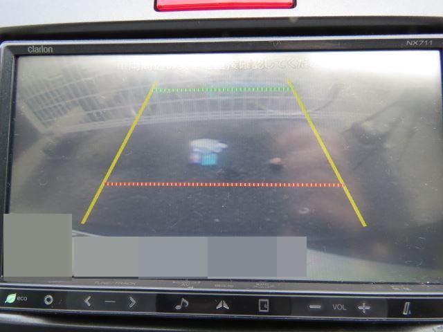 ルーター研磨後のきれいなリアカメラモニター映像