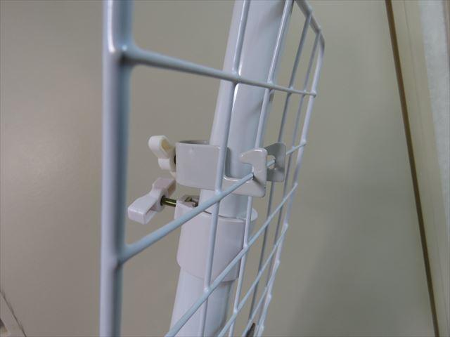 突っ張りポール用の取り付けホルダーの使い方を断面図で紹介